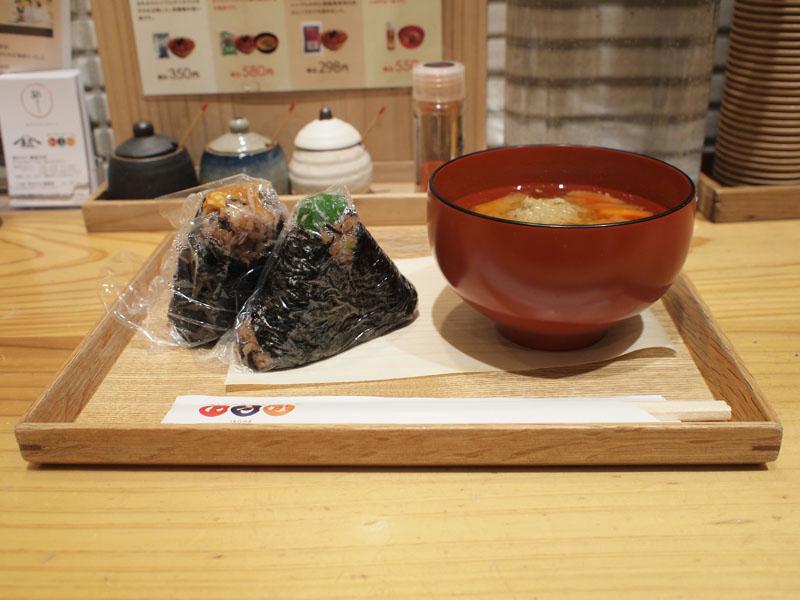 寝かせ玄米おむすび いろは 渋谷ヒカリエ シンクス店