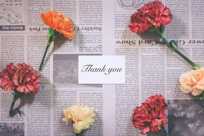 彼への感謝と尊敬の気持ちを忘れない